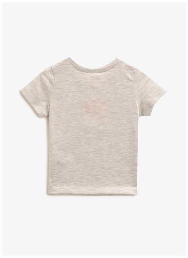 Koton Koton Erkek Bebek Gri T-Shirt Gri